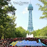 King's Dominion Amusement Park in Virginia