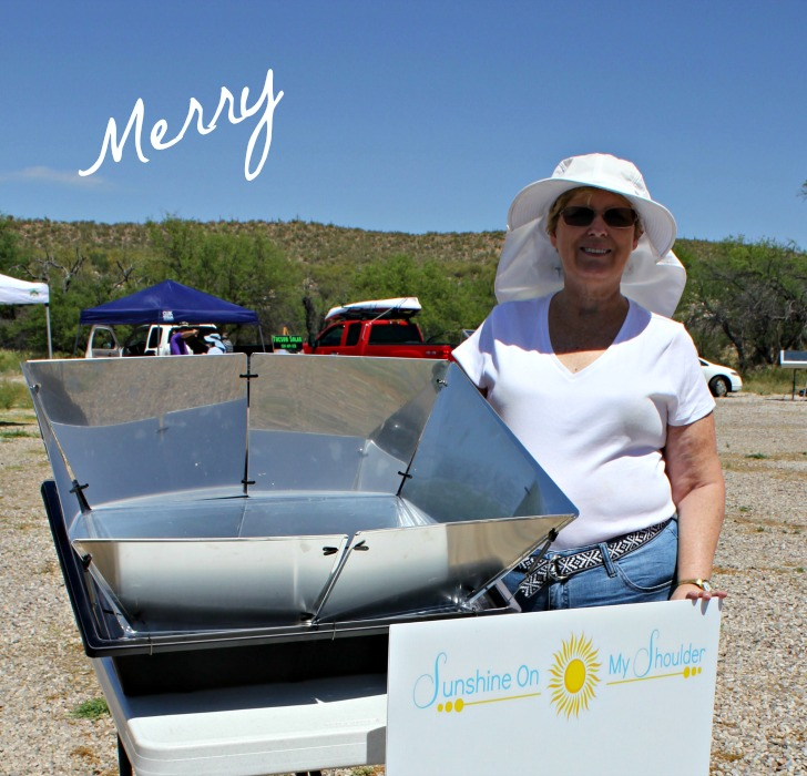 Merry at Tucson Solar Potluck