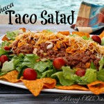 Machaca Taco Salad