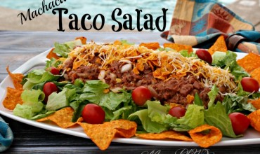 Machaca Taco Salad