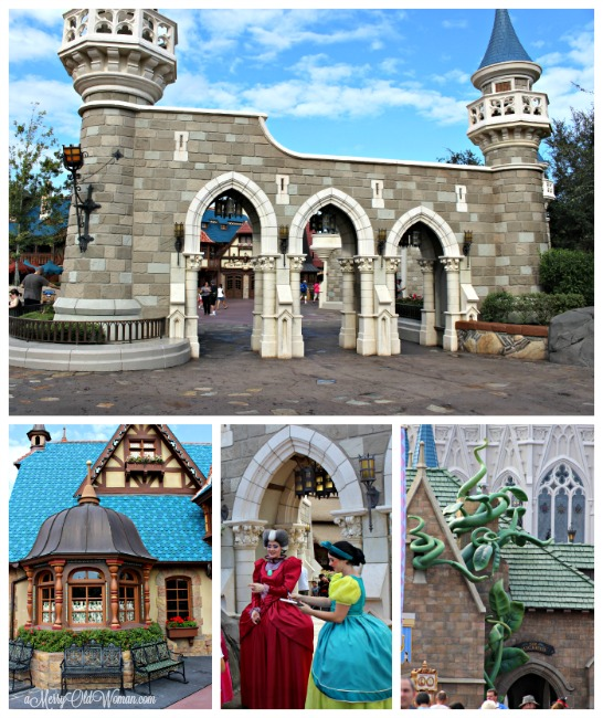 Cinderella's village at Disney World FL