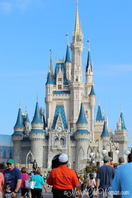 Cinderella's castle at Disney World FL