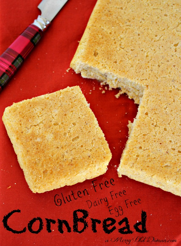 Gluten Free cornbread is made from the same recipe as my original ...