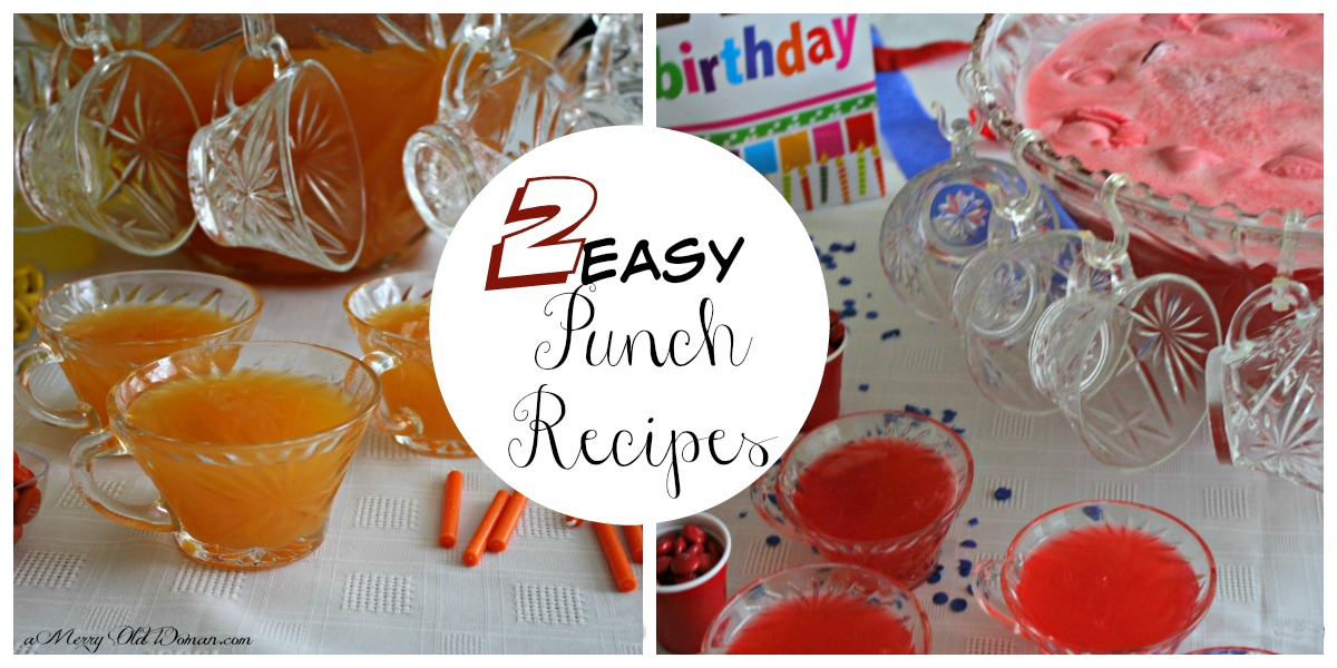 2 Easy Punch Recipes