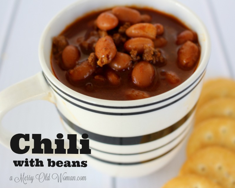 Texas Chili with Beans