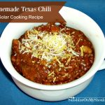 Homemade Texas Chili
